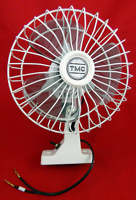 Oscillating 12v Fan White 150mm 1.5Amp New Caravan Camper Car Truck Bus RV Boat