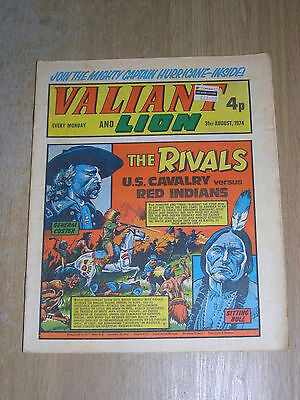 Valiant and Lion 31st August 1974