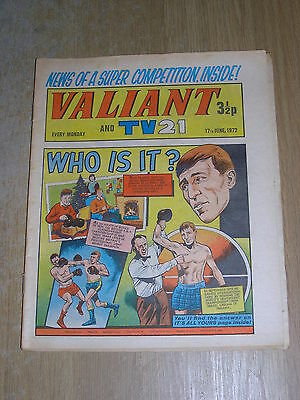 Valiant and TV 21 17th June 1972