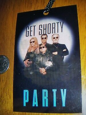 GET SHORTY John Travolta/Danny DeVito Custom/Original Premiere Party Pass! W COA