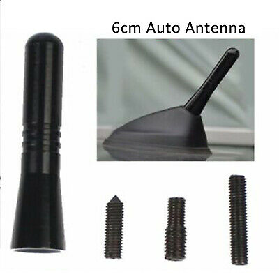 6cm Black Stubby Sting Antenna Aerial Car Radio FM/AM Signal Reception Mast OZ