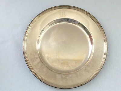 """Sterling Silver Bread & Butter Plates 6"""" Lord Saybrook International Sterling"""
