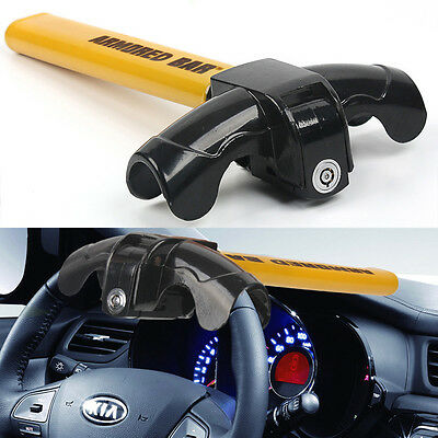 Universal Heavy Duty Steering Wheel Lock Anti-Theft Car Security Van Secure New