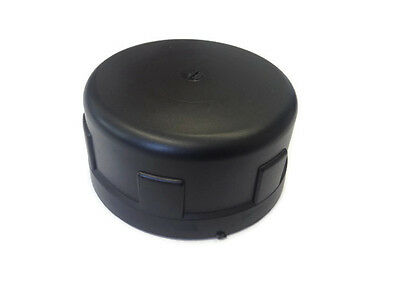 Black PP Polypropylene Water Pipe Fitting Cap Female Threaded