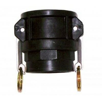 Female x Female Thread Type D PP Camlock Coupler/Cam&Grove Coupling