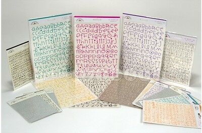 Doodlebug All Mixed Up Alphabet Rub-ons