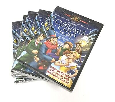 SET LOT of 5 Christmas Carol The Movie DVD BRAND NEW Bilingual RX3/25