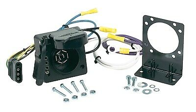 hoppy 40155 plug in simple trailer hitch wiring kit for 99 01 ford hopkins 47185 multi tow wiring harness trailer adapter new shipping usa