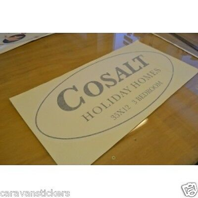 COSALT Holiday Home Sticker Decal Graphic - SINGLE