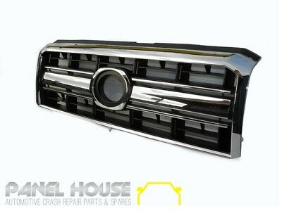 Toyota Landcruiser VDJ70 VDJ76 VDJ78 VDJ79 07-13 Chrome & Black Grille NEW