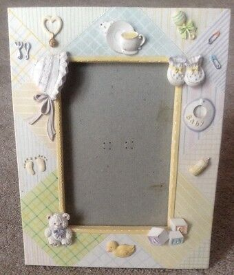 'Twos Company' Baby Frame For 3x4 in Picture