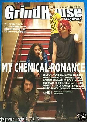 GRINDHOUSE Japan Music Magazine 12/2010 #63 My Chemical Romance Foo Fighters