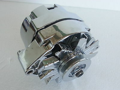 FAST Eng. Chev Small & Big block 120 amp alternator int. reg. 1 wire chrome 350