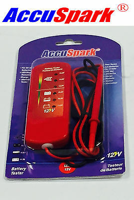 AccuSpark LED 12 volt Battery and Alternator Tester