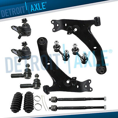 Brand New 12pc Front Suspension Kit for Toyota Corolla / Geo Chevy Prizm