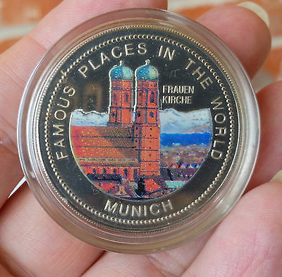 2nd Year of Mint Colored World Coins: 1994 Uganda 1,000 Sh PROOF Munich RARE