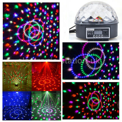 Mini DMX512 Lichteffekt Discokugel Projektor LED Licht RGB Party Licht Disco DJ
