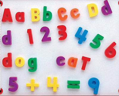 99 x Magnetic Letters and Numbers upper and lower case Alphabet