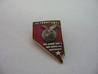 1996 FOE Order of Eagles Las Vegas Convention Pin 90th Grand Aerie