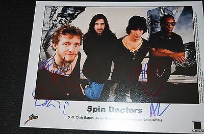 SPIN DOCTORS signed Autogramm 20x25 cm In Person komplette Band TWO PRINCES