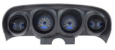 1969-70 Ford Mustang VHX Instrument (Carbon Fiber Blue)
