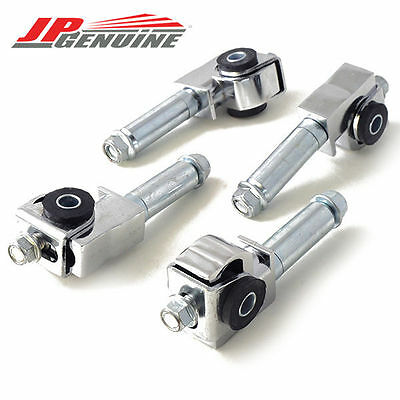 Silver Adjustable Front Camber Kit - Avenger / Talon / Eclipse / Galant