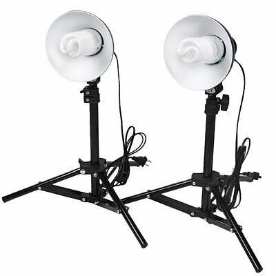 Cowboystudio Tall Photography Studio Table Top Light Kit for product photography
