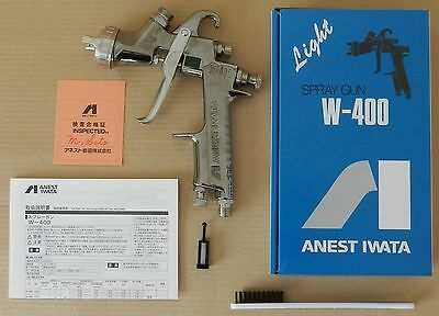New ANEST IWATA W-400 132G 1.3mm Gravity Spray Gun without Cup from Japan