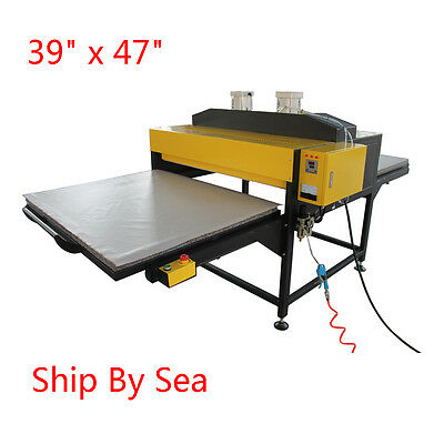"""39"""" x 47"""" Pneumatic Double-Working Table Heat Press Machine With Slide Style"""