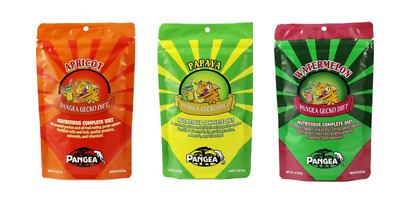 OFFER! Pangea Gecko Diet - All 3 Flavours Of Gecko Food For Your Lizards To Try