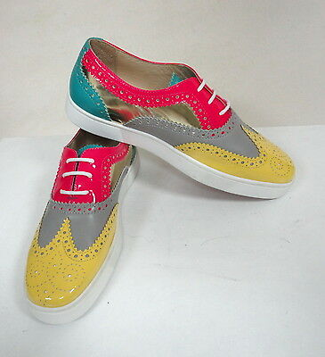 b8adabe458d6 Christian Louboutin MANS GOLFITO WINGTIP SNEAKERS -- READ THE DESCRIPTION!