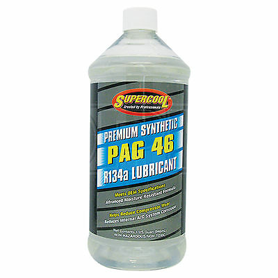 Supercool PAG 46 Synthetic Air Conditioning Lubricant R-134a R134a - 946ml 32oz