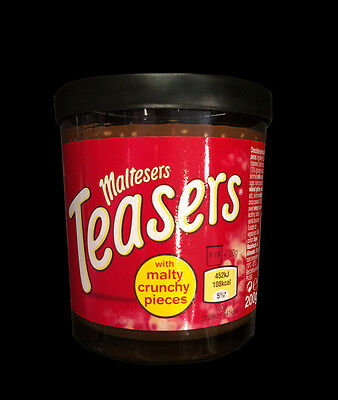 UK Maltesers Teasers Malty Crunchy Pieces Chocolate Spread 200g Maltesers Spread