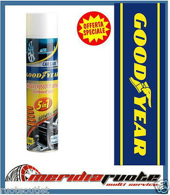 Rinnova Cruscotti Spray A Base D'acqua Good Year 5 In 1 Effetto Opaco Ssangyong