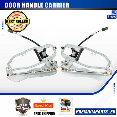 Set of 2pcs Door Handle Carriers for BMW E53 X5 2000-2006 Rear Left and Right