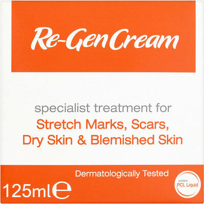 Re-Gen Cream for stretch marks, scars, and blemished skin 125ml