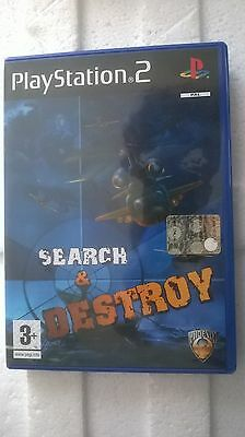 Ps2 Sony Playstation 2 Pal Search & Destroy Look Photo