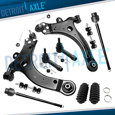 Brand New 10pc Complete Front Left Right Suspension Kit for GM Vehicles