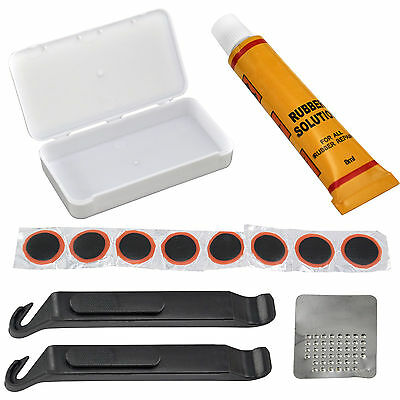 Bicycle Cycle Bike Puncture Repair Outfit Patched Kit SQ