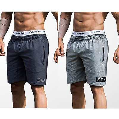 ECHT Charcoal Sweat Shorts GYM, BODYBUILDING, TRAINING, RUNNING, SHORTS, MENS