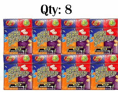 8 x Jelly Belly Bean Boozled 4th Edition 45g - beanboozled challenge