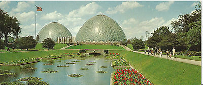 """""""Astro Domes of Nature"""" The Domes, Milwaukee, WI. 1960s - 3 1/2"""" x 8 1/2"""" PC"""