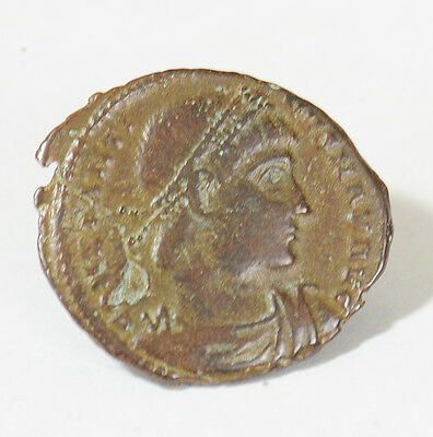 Aphrodite - Ancient Roman Bronze Constantine I The Great Coin (307 - 337 A.d.)