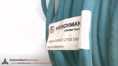 Hirschmann M224Tpestjt50.0M Cordset 4 Pole Male St To Ethernet End
