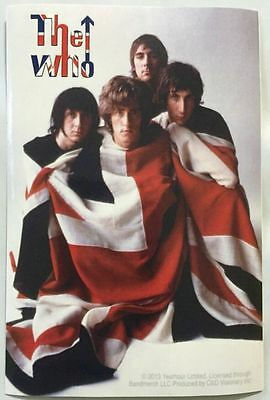 "The Who Band Sticker 3""x4.5"""