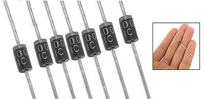 50 x 1N4001 50V 1A DO-41 Axial Lead Rectifier Diodes LW