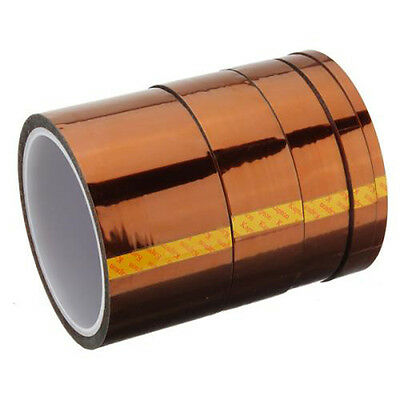 20mm 33m 100ft Tape High Temperature Heat Resistant Polyimide LW