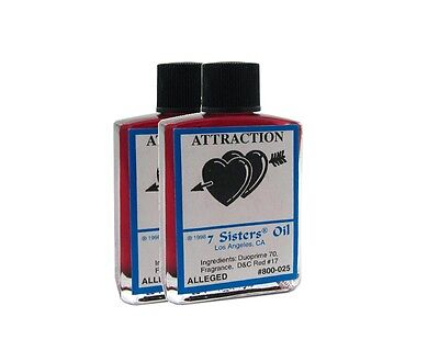 Attraction Oil by 7 Sisters of New Orleans - 14.7ML - Attract good fortune!