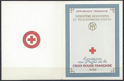 France Carnet Croix Rouge Red Cross 1959 N°2008 Neuf ** Luxe Mnh