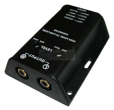 Celsus Adjustable Line Converter - High to Low Level - Speaker to RCA Adapter